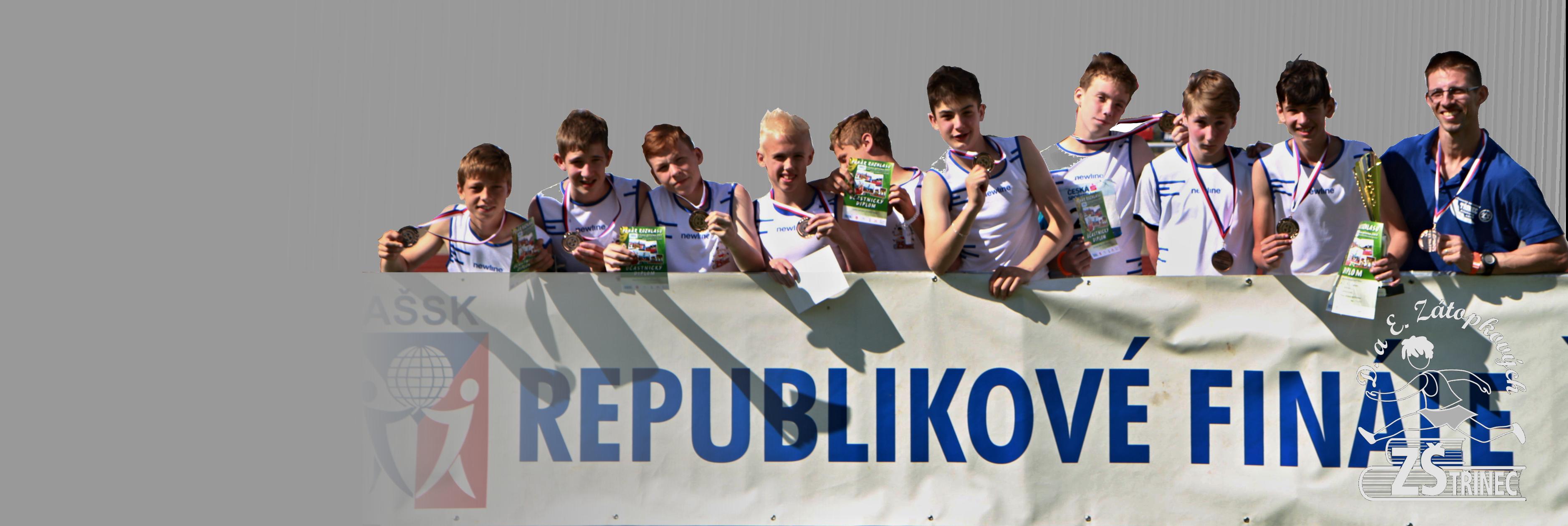 Atletika, republika 2015